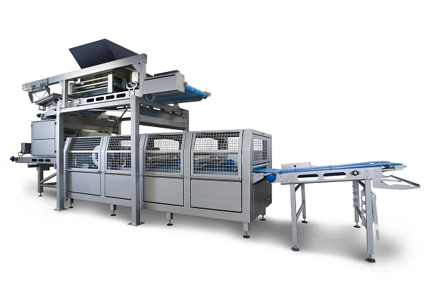 Sanitary Dough Sheeting Lines Bakery Equipment